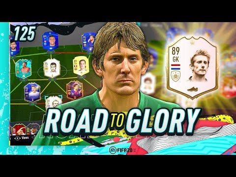 FIFA 20 ROAD TO GLORY #125 - ICON SWAP BRICK WALL!!