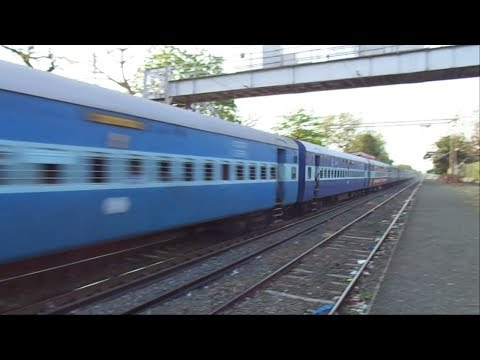 Wap-5 Dadar Ajmer Express Shows High Speed!!!!! video