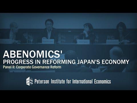 Abenomics' Progress in Reforming Japan's Economy: Panel II