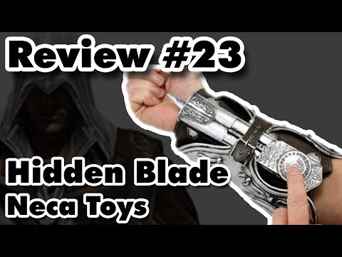 Review #23 - Hidden Blade Assassins Creed - Neca Toys (Português - Brasil)