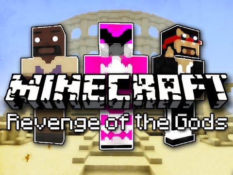 Minecraft: Revenge of the Gods w Mark and Nick Part 1 - Mountains...