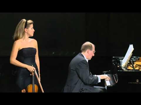Beethoven Violin Sonata No 9 Op  47 kreutzer - Anne Sophie Mutter, Lambert Orkis Zohari video