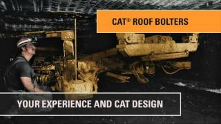 Cat® Room & Pillar Mining Equipment