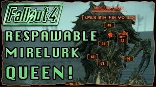Mirelurk Queen Respawn Location & Instigator Testing! | Fallout 4