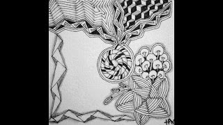 Weekly Zentangle® Tangle Video-ING-October 12-18, 2015