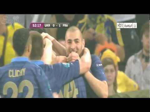 هَدف فرنسا يورو 2012