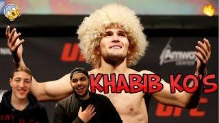 KHABIB ''The Eagle'' HIGHLIGHTS (REACTION)!