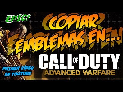 COPIAR EMBLEMAS EN CALL OF DUTY ADVANCED WARFARE PS3 PS4 XBOX ONE Y XBOX 360