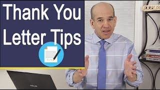 Thank You Letter Tips - How to Write a Thank You Letter