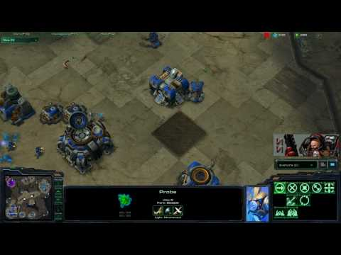 SS :: SC2 - 2v2 Superman[t] & Shocky[p] Vs ZP (Part2/3)