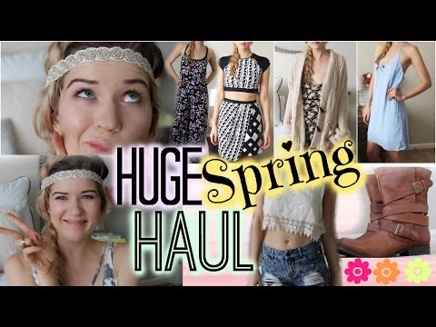 HUGE Spring Haul: ✿ Clothes, Shoes & MORE! ✿