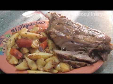 Баранья лопатка в духовке - Рецепт Бабушки Эммы