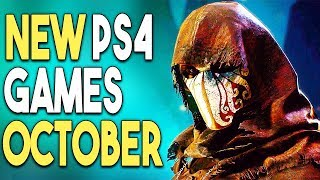 Top 15 BIG PS4 Games Coming in OCTOBER 2018