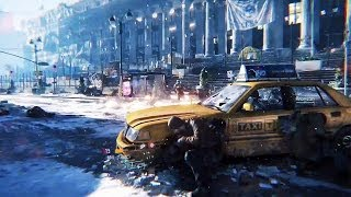 PS4 - The Division Gameplay [E3 2014]