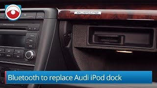 How-To replace the factory iPod dock with Bluetooth in a Audi A4 A3 TT