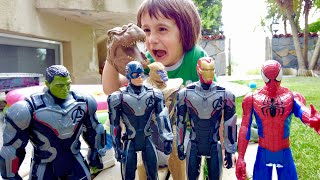 Ali, Dinosaur and Toys Fun Games - Pretend Play and Fun Children Videos