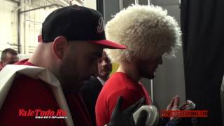 Khabib Nurmagomedov vs Pat Healy. Backstage Pass UFC 165. (Part 6)