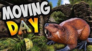 Moving Day! - Ark Survival Evolved Gameplay