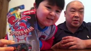 Spider Ham Hot Wheels.  Spider pig toy review with Matts Playtime
