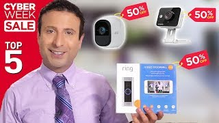 Top 5 Security Camera Deals of Cyber Week 2019