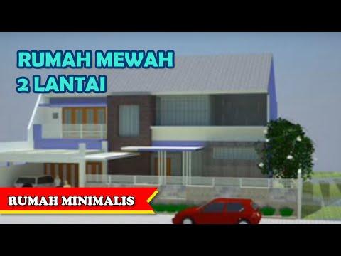Rumah Mewah 2 Lantai Type 380 - Contoh Denah Rumah Minimalis 2012