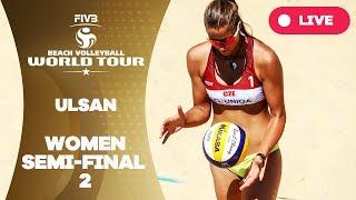 Ulsan 1-Star  - 2018 FIVB Beach Volleyball World Tour – Women Semi Final 2