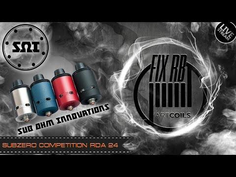 Доброе утро №78 /кофе и Subzero Competition RDA 24 By Sub Ohm Innovations| LIVE 26.12.16 | 11:00 MCK