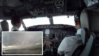 CUMULONIMBUS DISSIPATING STAGE   COCKPIT VIEW AT BALI   YouTube