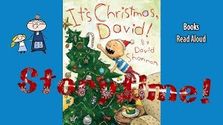 IT'S CHRISTMAS DAVID! Read Aloud ~ Christmas Stories ~ Bedtime Stories ~ Christmas Books for Kids