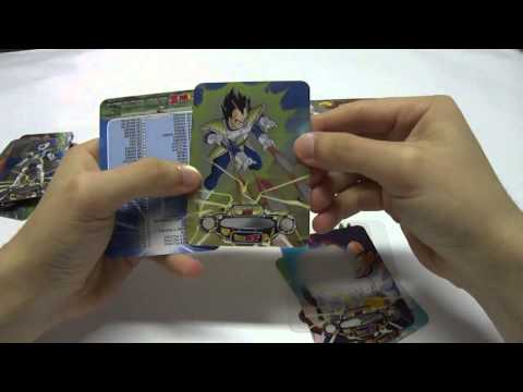 Apertura Box Lamincards Dragon Ball Z Special Metal 2013