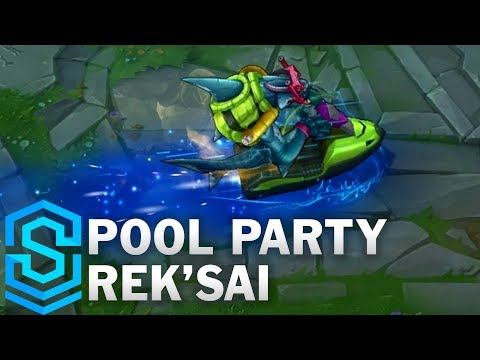 Pool Party Rek'Sai (2017) Skin Spotlight - League of Legends