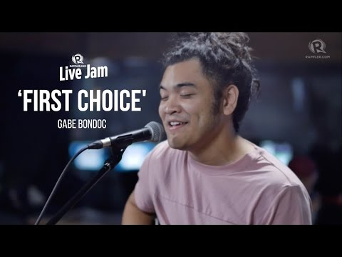 Gabe Bondoc – 'First Choice'