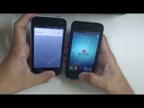 Hands On Demo: CM Flare S100 running Android 4.1.2 Jelly Bean vs CM Flare in 4.0.4 ICS