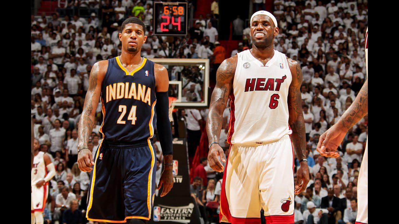 LeBron James vs. Paul George - Classic Duel: Who wins Game ...