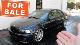 I'M SELLING MY SUPERCHARGED E46 M3... This is why.
