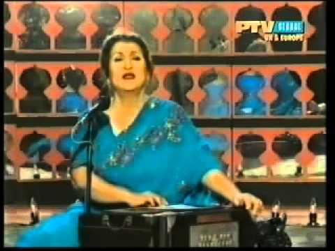 Ay Mere Hamnaseen Chal Kaheen Aur  Munni Begum  Live Ghazal video
