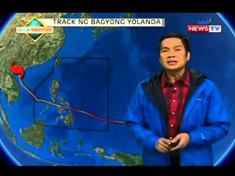 SONA: Bagyong Ruby, itinuturing nang supertyphoon ng Joint Typhoon Warning Center ng Amerika