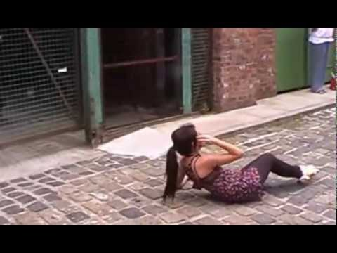 Michelle Keegan Filming Death Scene On Coronation Street
