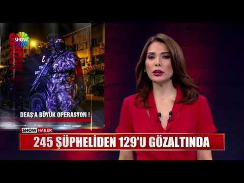 245 şüpheliden 129'u gözaltında