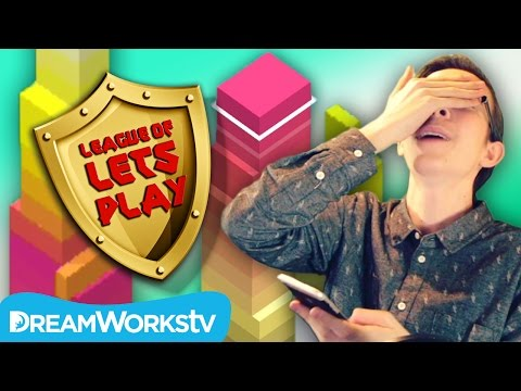 Is STACK the HARDEST Mobile Game Ever? | LEAGUE OF LET'S PLAY