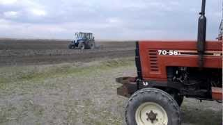 New Holland T5050 Vs NH Gaspardo HF300