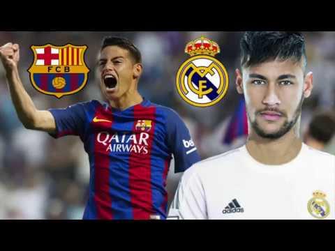 ÚLTIMO MINUTO James al Barcelona y Neymar al Real Madrid? thumbnail