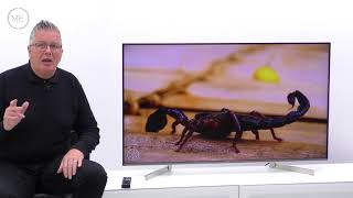 """Sony XF90 Series KD55XF9005BU 55"""" 4K HDR Ultra HD Smart Television Review (with input lag testing)"""