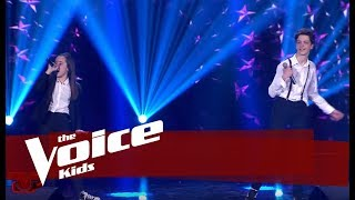 Kejvi & Altea - Felicità | Netët Live | The Voice Kids Albania 2019
