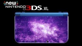 New Nintendo 3DS XL Galaxy Edition