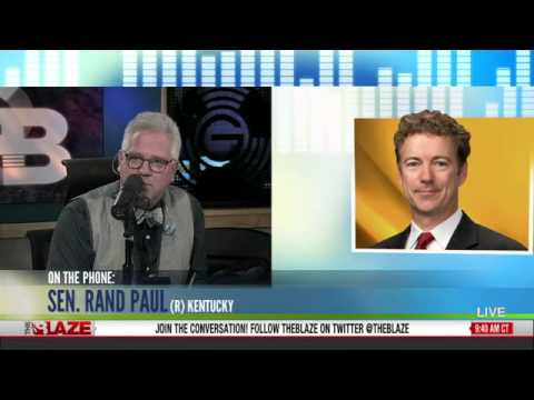 Rand Paul: Hillary Clinton Has Been Trying To Escape Culpability On Benghazi - Glenn Beck 5/16/2013