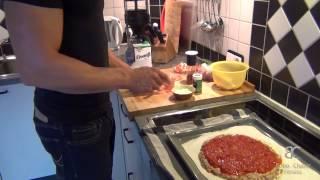 Low Carb Pizza - Rezept