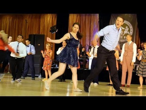 ILHC 2013 - Invitational Strictly Lindy Hop Finals klip izle