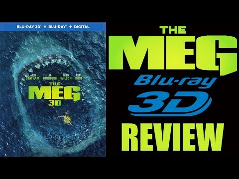 THE MEG 3D Blu-ray Review