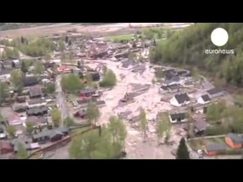4MIN News May 25, 2013: Norway Flood, Comet Dives at Sun, TE CH on E Limb